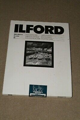 "Ilford resin coated bromide monochrome 16x12"" paper 50 sheets"