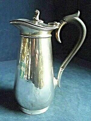 SUPERB ~ SILVER Plated ~ AESTHETIC Style ~ Water JUG ~ c1900 by Barker Brothers
