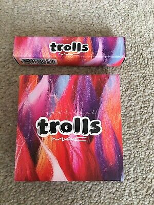 Mac Trolls Lipglass And Beauty Powder New Boxed