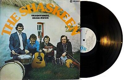 Pogues SHASKEEN LP Traditional Irish Music 1974 Original Vinyl Album RELEASE REC