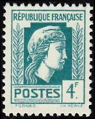 """FRANCE STAMP TIMBRE YVERT N° 643 """" MARIANNE D'ALGER 4F """" NEUF xx LUXE"""