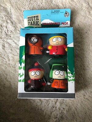 South Park Wind Ups 1998 Collector's Pack Kyle Stan Kenny Cartman Comedy Central