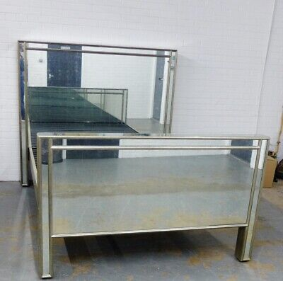 Julian Chichester ex display Mirrored king size bed