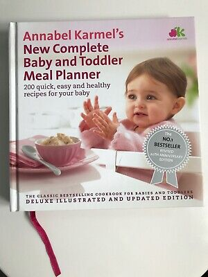 Annabel Karmel New Complete Baby & Toddler Meal Planner Special Edition