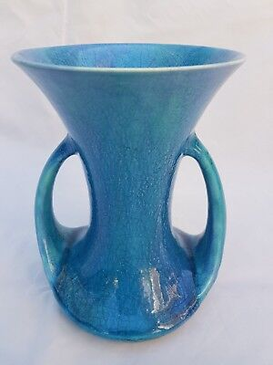 STUNNING BLUE ARTS & CRAFTS PILKINGTON VASE CIRCA 1910-1920s