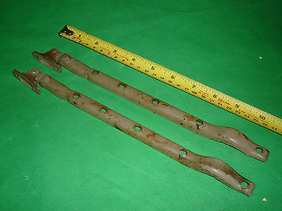 "Vintage Reclaimed 10"" Window Stay Shutter Metal Window Stay Openers"