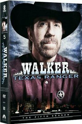 WALKER TEXAS RANGER SEASON 5 New Sealed 7 DVD Set