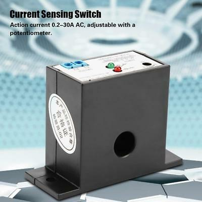 Normally Open Current Sensing Switch Adjustable AC 0.2-30A SZC23-NO-AL-CH UK Hot