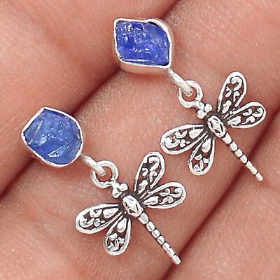 Tanzanite Crystal 925 Sterling Silver Earrings Jewelry Ae46127 28p Jewelry & Watches Gemstone