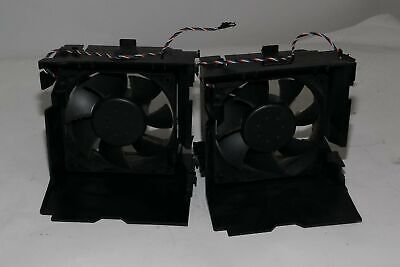 Dell Dimension 4700 N4399 0N4399 CPU Cooling Exhaust Case Fan and Shroud