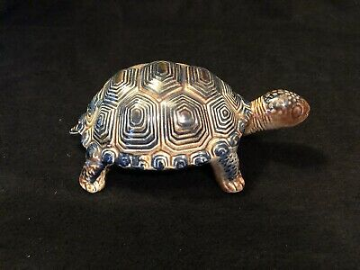 Vintage Tortoise Turtle Large Art Pottery Decanter