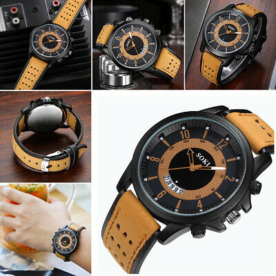 SOKI Luxury Brand watch Men Casual Luminous Surface Sport Quartz Watch Relogio
