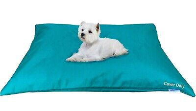"""Do It Yourself DIY Durable Waterproof Pet Dog Bed Cover 48""""x29"""" Large Peacock"""