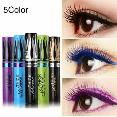 Silk Fiber Lash Mascara Waterproof Colorful Curling Eyelash Extension Thick One