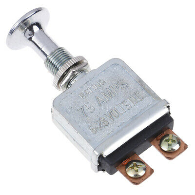 Heavy duty push pull switch V.F. SW-101 G.1820 75AMPS for trucks/ boat/race car