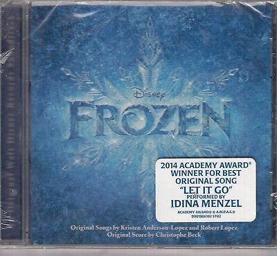 FROZEN Disney Soundtrack USA ISSUE CD NEW SEALED Let It Go