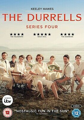 The Durrells Season 4 Series Four Fourth Keeley Hawes New Region 4 DVD In Corfu