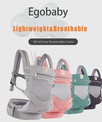 NEW EGOBABABY 360 Baby Carrier MULTIFUNCTION Breathable Carrier Adjustable