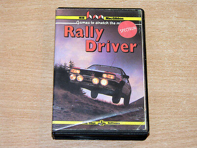 ZX Spectrum - Rally Driver By Five Ways Software