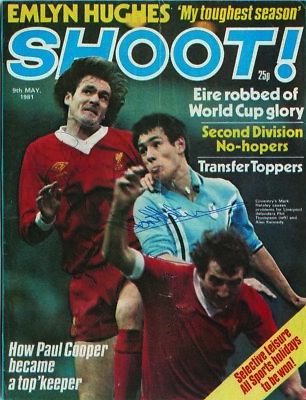 Hateley, Thompson & Kennedy Signed Shoot Magazine 1981