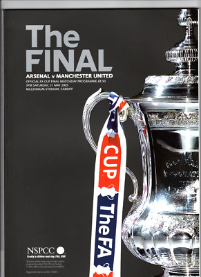 2005  FA CUP FINAL  -  ARSENAL  vs  MANCHESTER UNITED