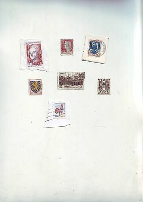 Lot Timbres anciens France --