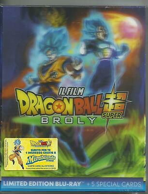 Dragon Ball. Super Broly (lim. edition) (2019) Blu Ray + 5 cards PRENOTAZIONE