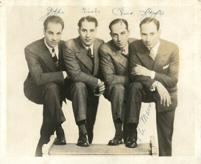 The Marx Brothers - Autographed Signed Photograph With Co-Signers