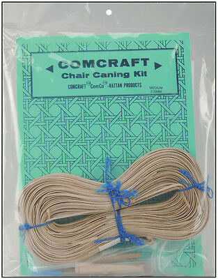 Commonwealth Basket Comcraft Chair Caning Kit, Medium 3mm Cane