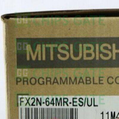 1PCS MITSUBISHI FX2N-64MR-ES/UL FX2N64MRESUL PLC NEW IN BOX Fast Ship