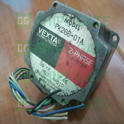 1PCS used Vexta Oriental PK266-01A 2-PHASE Stepping Motor Tested Fast Ship