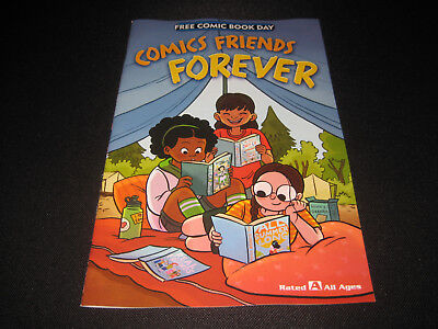 FREE COMIC BOOK DAY 2018 - COMIC FRIENDS FOREVER UNSTAMPED (NEW) Hope Larson