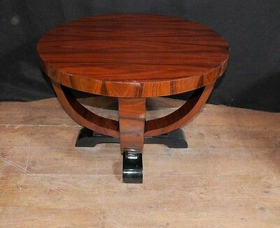 Art Deco Side Table Rosewood Occassional Cocktail Tables