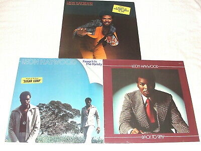(3) SEALED LP's - Leon Haywood: Come And Get Yourself Some, +2 Others,Orig Press
