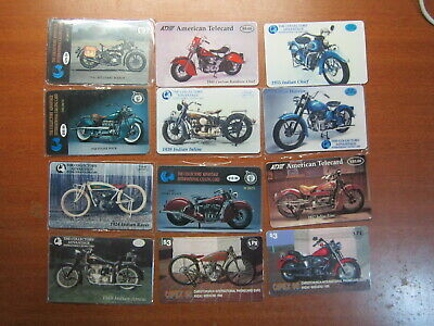 PHONECARDS INTERNATIONAL WORLD CARDS BIKES & Collector Cards MINT UNUSED