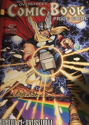 The Overstreet Comic Book Price Guide 41st Edition 2011-2012 Thor Cover