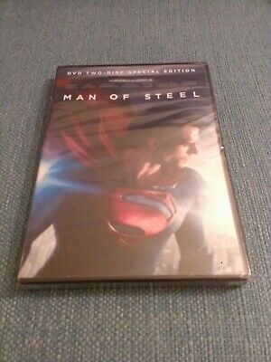 Man of Steel (DVD, 2013, 2-Disc Set, Special Edition) Widescreen