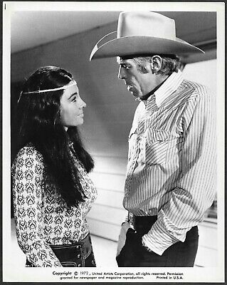 Western James Coburn Anne Archer Original 1970s Promo Photo The Honkers