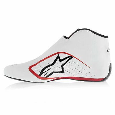 Alpinestars Leather FIA Approved/Nomex Lining Supermono Race/Racing/Rally Boots