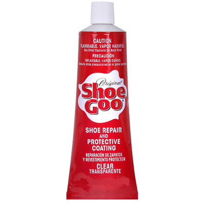 SHOE GOO Shoe Skate Repair Glue 1oz Clear Adhesive Protective Coating
