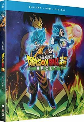 Dragon Ball Super Broly - The Movie - Blu-ray + DVD Sean Schemmel NR discs 2 NEW