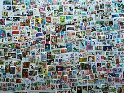500 Different Worldwide Stamp Collection