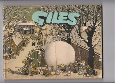 GILES Annual #11 1956/1957 Daily Express Cartoons 1st print number series eleven