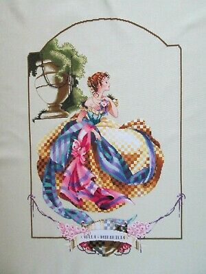 "Mirabilia ""Villa Mirabilia"" Completed Unframed Cross Stitch"