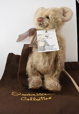 Retired Rare Isabelle Lee Collection Mohair Mouse Bear Cracker LE 300