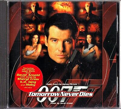 TOMORROW NEVER DIES- CD Soundtrack- David Arnold (Bond 007) Sheryl Crow/Moby
