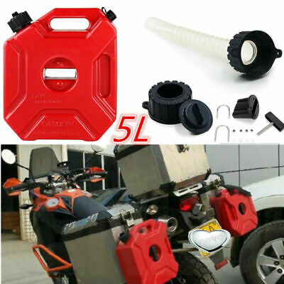 5L Portable Jerry Can with Fixed Accessories Gasoline Oil Container Fuel-jugs