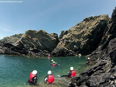 Coasteering Half Day Per Person in Anglesey North Wales