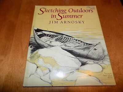 SKETCHING OUTDOORS IN SUMMER Artist Art Instruction Sketch Nature Arts Book