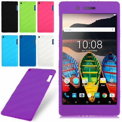 Soft Silicone Back Case Cover Skin For Lenovo Tab 3 7 TB3-730F/730M/730X Tablet